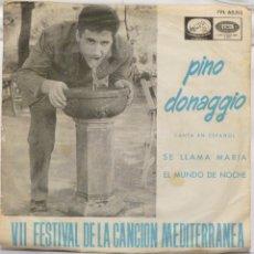 Discos de vinilo: PINO DONAGGIO. Lote 103301110