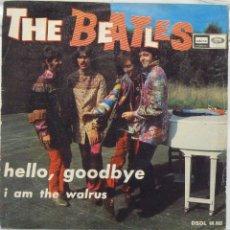 Discos de vinilo: THE BEATLES - HELLO, GOODBYE. Lote 103301219