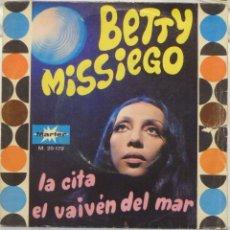 Discos de vinilo: BETTY MISSIEGO. Lote 103301391