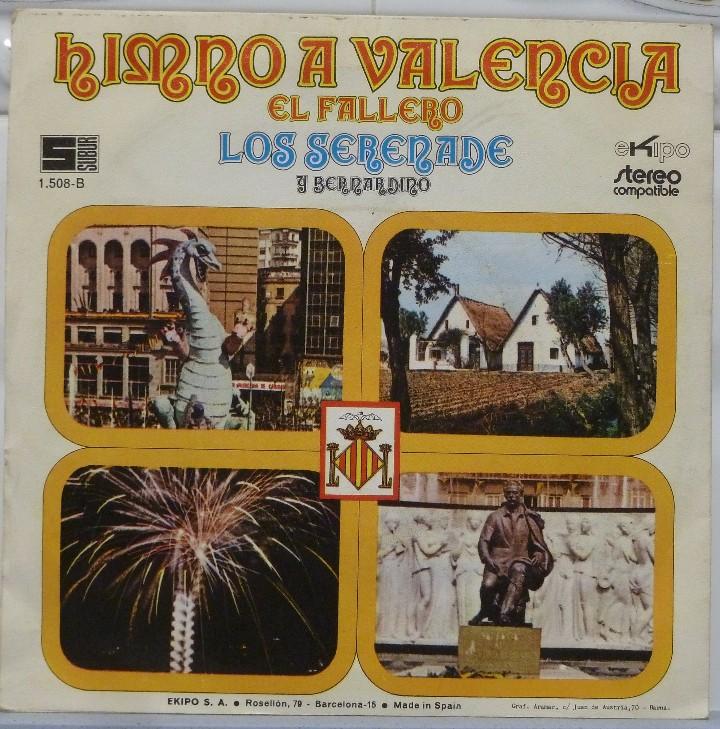 Discos de vinilo: LOS SERENADE Y BERNARDINO - Foto 2 - 103301403
