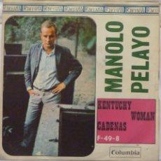 Discos de vinilo: MANOLO PELAYO. Lote 103301407