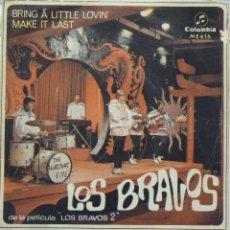 Discos de vinilo: LOS BRAVOS. Lote 103301419