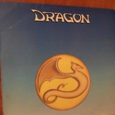 Discos de vinilo: DRAGON-MUSICA/JUEGOS DE AMOR-1990-ESKAPE PRODUCCIONES-MUY MUY RARO-VINILO NUEVO-HEAVY ROCK. Lote 103336187