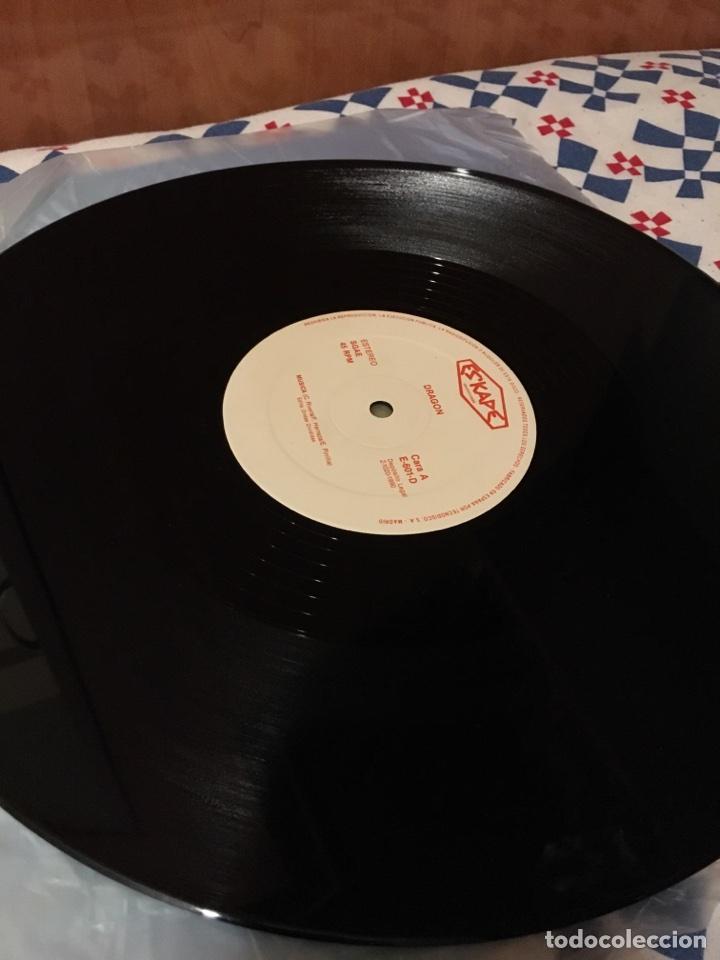 Discos de vinilo: DRAGON-MUSICA/JUEGOS DE AMOR-1990-ESKAPE PRODUCCIONES-MUY MUY RARO-VINILO NUEVO-HEAVY ROCK - Foto 3 - 103336187
