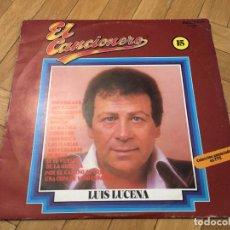 Discos de vinilo: DISCO VINILO LUIS LUCENA - EL CANCIONERO 15 - LP BELTER - 2-15 - ESPAÑA 1980. Lote 103367195