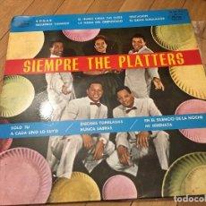 Discos de vinilo: VINILO SIEMPRE THE PLATTERS LP MERCURY DE 1962. Lote 103368279