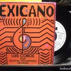 Discos de vinilo: SINGLE - LUIS COBOS - MEXICANO - THE ROYAL PHILHARMONIC ORCHESTRA NUEVO¡¡. Lote 103372079