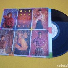 Discos de vinilo: OLE OLE VOY A MIL PROMO 1984 (EX-/EX-) VICKY LARRAZ INNER LP Ç. Lote 103379559