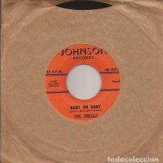 Discos de vinilo: SINGLE-THE SHELLS BABY OH BABY JOHNSON 104 USA 1960 DOO WOP. Lote 103380147