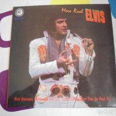 Discos de vinilo: MORE REAL ELVIS - LP 10 PULGADAS - RARÍSIMO.. Lote 103391219