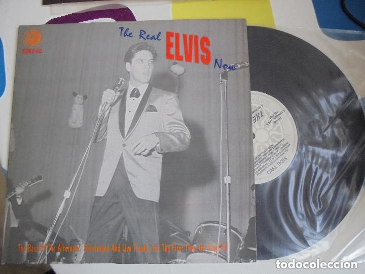 THE REAL ELVIS NOW - LP 10 PULGADAS - RARÍSIMO. (Música - Discos - LP Vinilo - Rock & Roll)