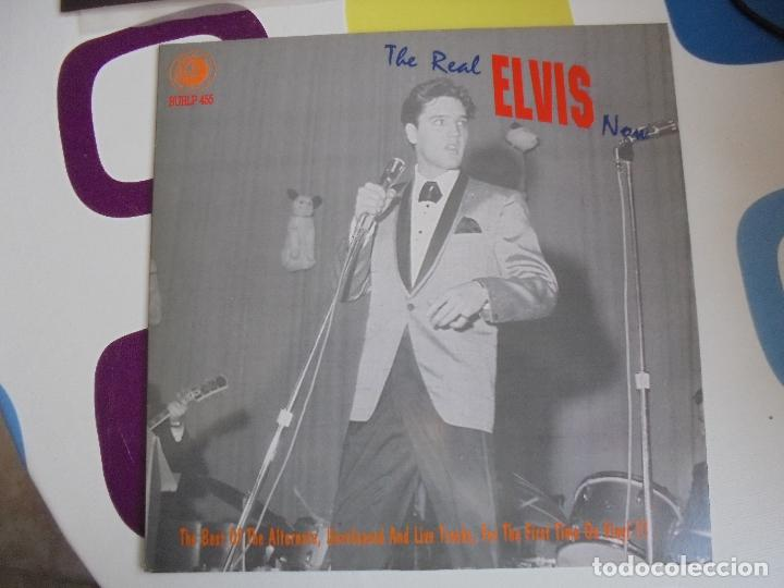 Discos de vinilo: THE REAL ELVIS NOW - LP 10 PULGADAS - RARÍSIMO. - Foto 3 - 103391579