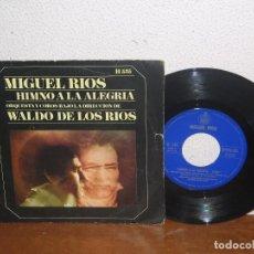 Discos de vinilo: MIGUEL RÍOS 7´´ MEGA RARE VINTAGE ESPAÑA 1969. Lote 103409979