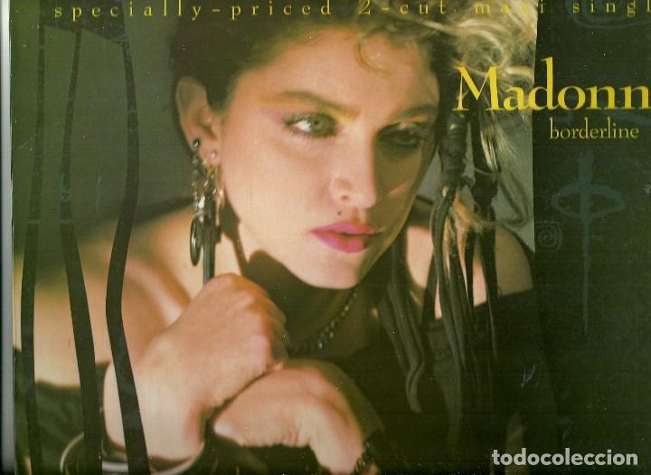 MADONNA. BORDERLINE (VINILO MAXI-SINGLE 1984) (Música - Discos - Singles Vinilo - Electrónica, Avantgarde y Experimental)