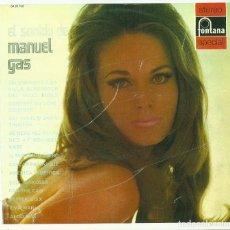 Discos de vinilo: MANUEL GAS. EL SONIDO DE MANUEL GAS (VINILO LP 1973). Lote 103423627