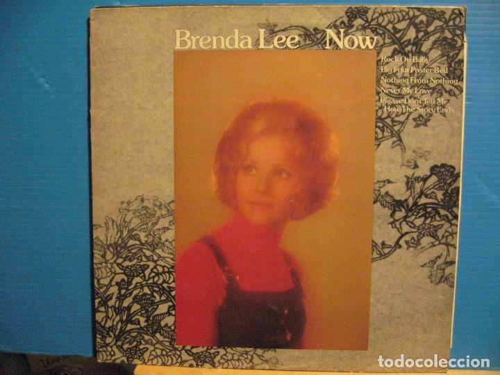 BRENDA LEE / NOW 1974 !! ORIG. EDIT. USA !! EXCELENTE !!!!!!!!!! (Música - Discos - LP Vinilo - Solistas Españoles de los 50 y 60)