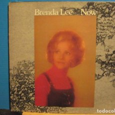 Discos de vinilo: BRENDA LEE / NOW 1974 !! ORIG. EDIT. USA !! EXCELENTE !!!!!!!!!!. Lote 103428127