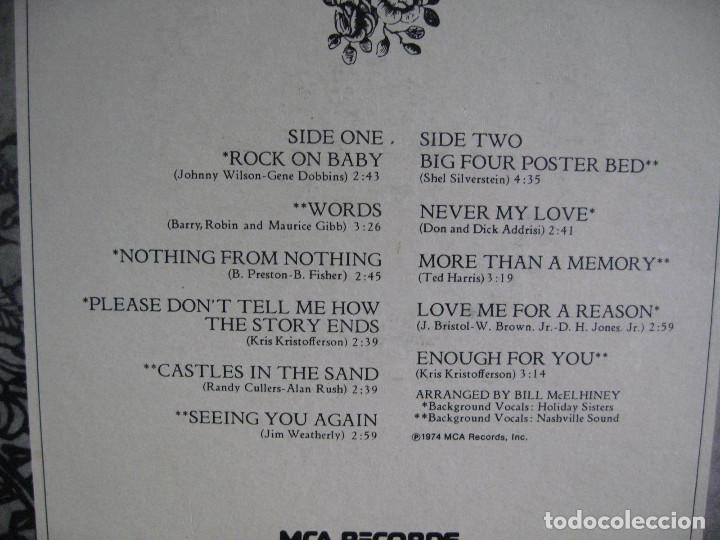 Discos de vinilo: BRENDA LEE / now 1974 !! ORIG. EDIT. USA !! EXCELENTE !!!!!!!!!! - Foto 2 - 103428127