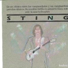 Discos de vinilo: STING. NADA COMO EL SOL (VINILO MINI ALBUM 1988). Lote 103430251