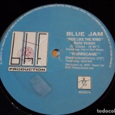 Discos de vinilo: BLUE JAM - RIDE LIKE THE WIND - 1990. Lote 103448127