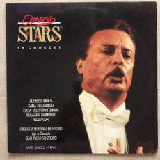 Discos de vinilo: VINILO - MS - MAXISINGLE - OPERA STARS IN CONCERT. ORQUESTA SINFONICA DE MADRID. VER DESCRIPCION. Lote 103464347