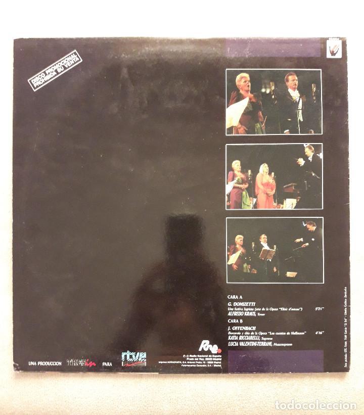 Discos de vinilo: Vinilo - MS - MaxiSingle - Opera Stars in concert. Orquesta sinfonica de Madrid. Ver descripcion - Foto 2 - 103464347
