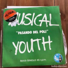 Discos de vinilo: MUSICAL YOUTH - PASS THE DUTCHIE - MAXISINGLE MCA 1982. Lote 103469735