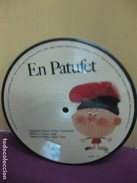 EN PATUFET. PICTURE DISC. ADAPTACIO: RAMON FOLCH I CAMARASA. MUSICA: CASAS AUGE. SAYTON 1971. (Música - Discos de Vinilo - Maxi Singles - Música Infantil)