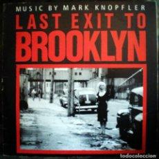 Disques de vinyle: MARK KNOPFLER – LAST EXIT TO BROOKLYN LP EDICIÓN BRASIL - DIRE STRAITS . Lote 103483327