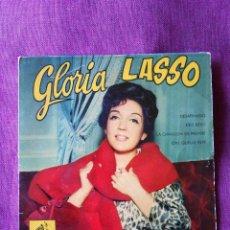Discos de vinilo: GLORIA LASSO, EP DESAFINADO, 'LA VOZ DE SU AMO' 1962. Lote 103487127