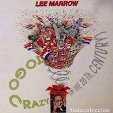 Discos de vinilo: LEE MARROW - TO GO CRAZY - SINGLE PROMO MAX MUSIC SPAIN 1991 + HOJA PROMO. Lote 103495039