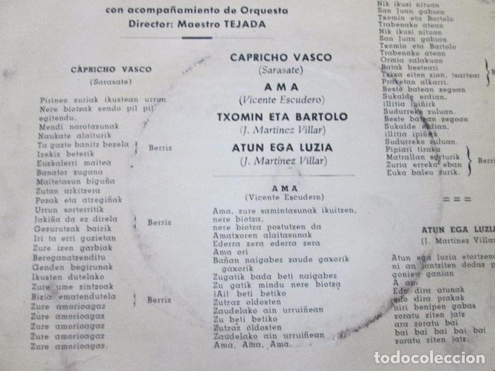 Discos de vinilo: single-carlos fagoaga(tenor)-1965-columbia-scge 80867-buen estado-ver fotos - Foto 5 - 103496471