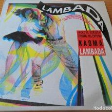 Discos de vinilo: LA LAMBADA DOBLE LP - CON MUSICA PARA BAILAR -. Lote 103501779