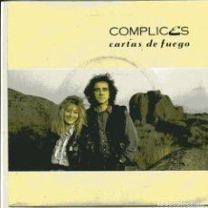 Discos de vinilo: COMPLICES / CARTAS DE FUEGO + VERSION INSTRUMENTAL (SINGLE 1989). Lote 103501823