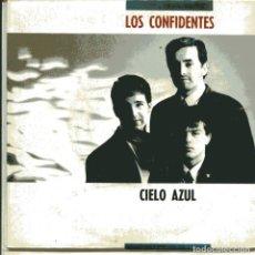 Discos de vinilo: LOS CONFIDENTES / CIELO AZUL / TIEMPO PERDIDO (SINGLE 1990). Lote 103503523