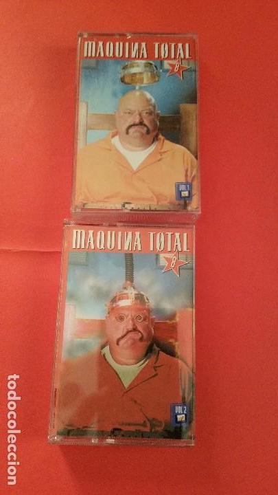 CASETES MÁQUINA TOTAL 8 (Música - Discos - Singles Vinilo - Grupos Españoles de los 90 a la actualidad)