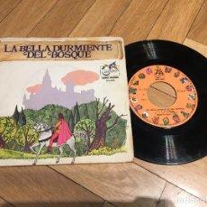 Discos de vinilo: DISCO SINGLE LA BELLA DURMIENTE DEL BOSQUE SERIE GUIÑOL ZAFIRO. Lote 103516991