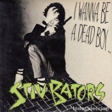 Discos de vinilo: STIV BATORS LORDS OF THE NEW CHURCH DEAD BOYS - PACK DE 4 SINGLES EDICION ESPAÑOLA. Lote 103524499