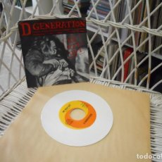 Dischi in vinile: D GENERATION– NO WAY OUT.SINGLE ORIGINAL USA 1993.VINILO BLANCO.SELLO ROCKVILLE..PUNK ROCK. Lote 103526523