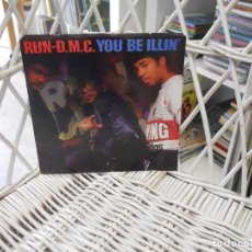 Discos de vinilo: RUN-D.M.C.– YOU BE ILLIN' / HIT IT RUN.SINGLE ORIGINAL USA 1986.PROFILE RECORDS. Lote 103526963