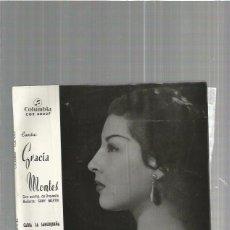Discos de vinilo: GRACIA MONTES CARIA. Lote 103527723