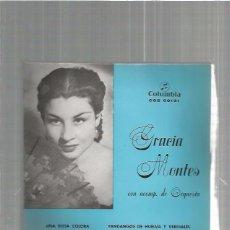 Discos de vinilo: GRACIA MONTES ROSA COLORA. Lote 103528095