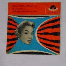 Discos de vinilo: PAULE DESJARDINS. Nº 3. ARMAND MIGLIANI Y SU ORQUESTA. IL EST LA. MANGO RUMBO. CASINO BLUES. TDKDS9. Lote 103528603