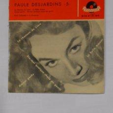 Discos de vinilo: PAULE DESJARDINS. Nº 5. ARMAND MIGLIANI Y SU ORQUESTA. LA CHANSON DE LIMA. LA BELLE AMOUR TDKDS9. Lote 103528787