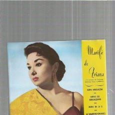 Discos de vinilo: MARIFE DE TRIANA MARIA. Lote 103528823