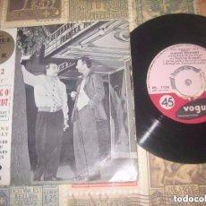 Discos de vinilo: DJANGO REINHARDT STIPHANE GRAPPELLY OL MAN RIVER I LOVE YOU EP (VOGUE -1959) ORIGINAL FRANCIA. Lote 103534335