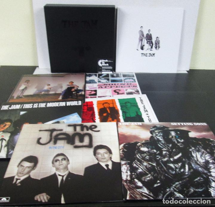 Discos de vinilo: THE JAM - THE STUDIO RECORDING - BOX 8 LP 180 GR + LIBRETO - POLYDOR 2013 LIMITED EDITION - NUEVO - Foto 4 - 103534871