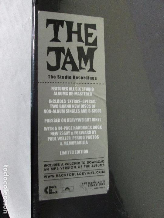 Discos de vinilo: THE JAM - THE STUDIO RECORDING - BOX 8 LP 180 GR + LIBRETO - POLYDOR 2013 LIMITED EDITION - NUEVO - Foto 5 - 103534871