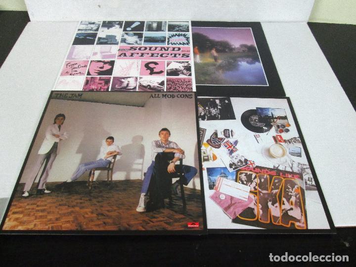 Discos de vinilo: THE JAM - THE STUDIO RECORDING - BOX 8 LP 180 GR + LIBRETO - POLYDOR 2013 LIMITED EDITION - NUEVO - Foto 8 - 103534871