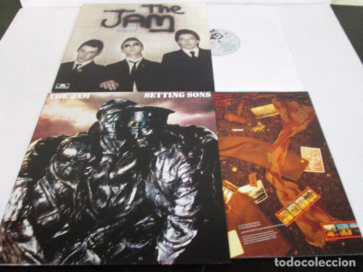 Discos de vinilo: THE JAM - THE STUDIO RECORDING - BOX 8 LP 180 GR + LIBRETO - POLYDOR 2013 LIMITED EDITION - NUEVO - Foto 12 - 103534871